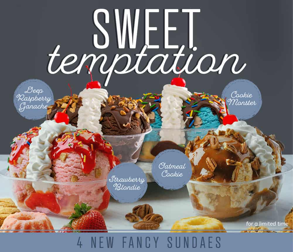 Sweet Temptations Sundaes